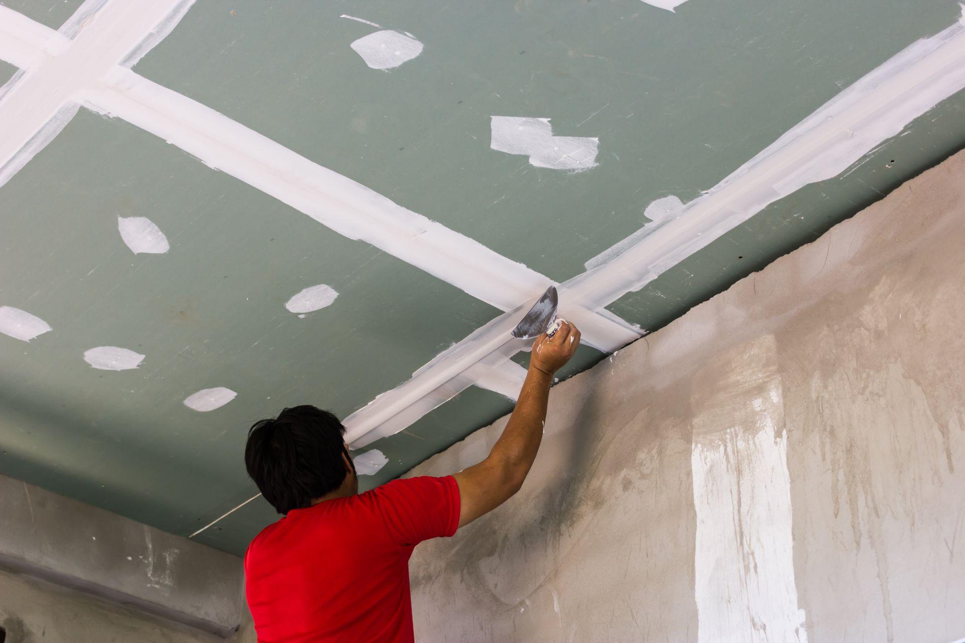 Видео потолки одноуровневых из гипсокартона своими руками